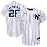 Youth Nike DJ LeMahieu White New York Yankees Home 2020 Replica Player Jersey