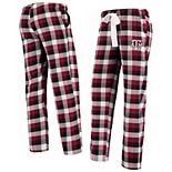 Women's Concepts Sport Maroon/Black Texas A&M Aggies Breakout Flannel Pants