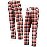 Women's Concepts Sport Navy/Orange Illinois Fighting Illini Breakout Flannel Pants