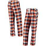 Women's Concepts Sport Navy Chicago Bears Breakout Flannel Pants
