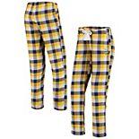 Women's Concepts Sport Purple Minnesota Vikings Breakout Flannel Pants