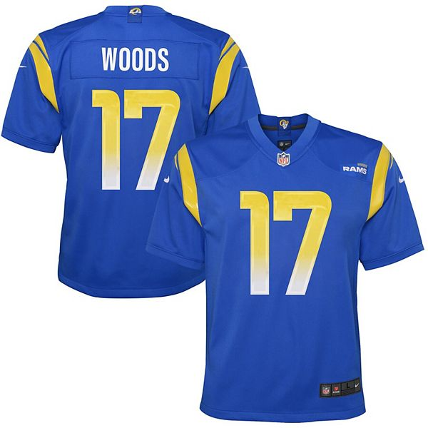 Youth Nike Robert Woods Royal Los Angeles Rams Game Jersey