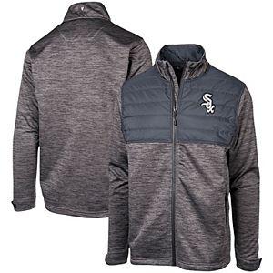 Men's Levelwear Charcoal Chicago White Sox Beta Full-Zip Jacket