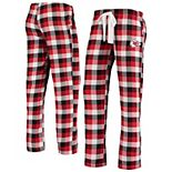Women's Concepts Sport Red Kansas City Chiefs Breakout Flannel Pants