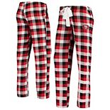 Women's Concepts Sport Scarlet San Francisco 49ers Breakout Flannel Pants