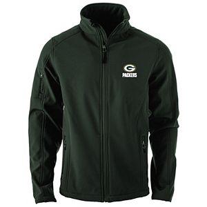 Men's Green Green Bay Packers Sonoma Softshell Full-Zip Jacket