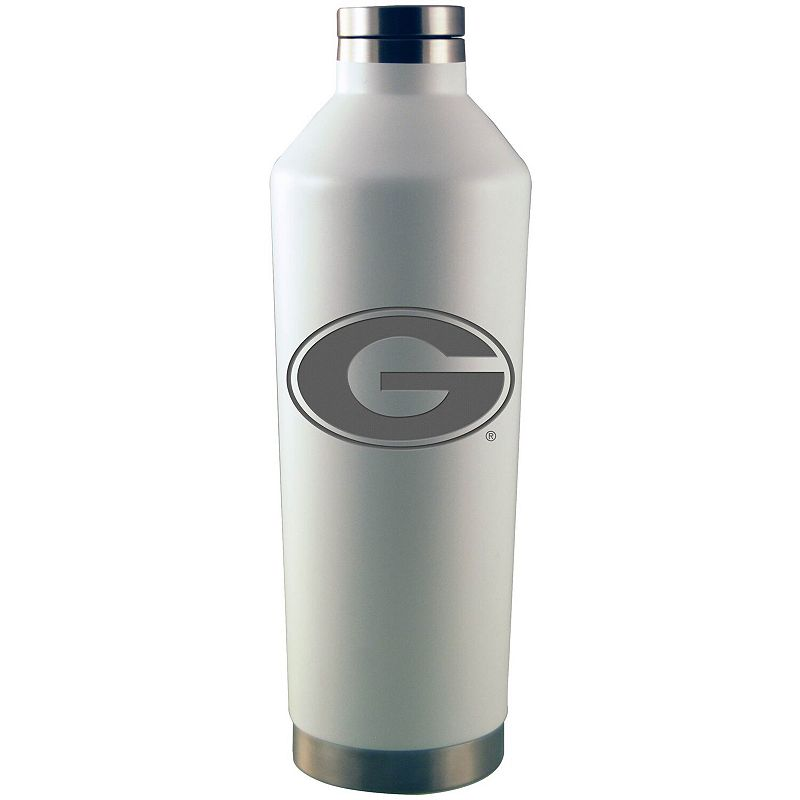 White Georgia Bulldogs 26oz. Primary Logo Water Bottle