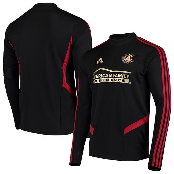 Men's adidas Black Atlanta United FC 2019 Long Sleeve Training Jersey