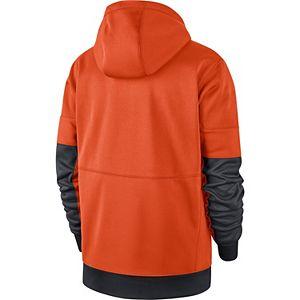 Men's Nike Orange Clemson Tigers Sideline Full-Zip Performance Hoodie