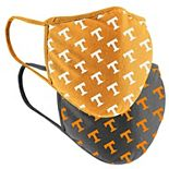 Adult Colosseum Tennessee Volunteers Logo Face Covering 2-Pack