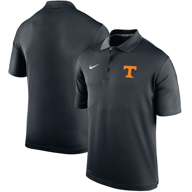 Men's Nike Black Tennessee Volunteers Big & Tall Primary Logo Varsity Performance Polo, Size: 4XB
