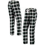 Women's Concepts Sport Green New York Jets Breakout Flannel Pants