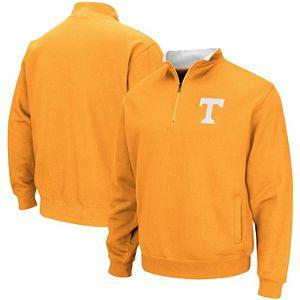 Men's Colosseum Tennessee Orange Tennessee Volunteers Tortugas Logo Quarter-Zip Pullover Jacket