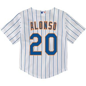Toddler Nike Pete Alonso White New York Mets Home 2020 Replica Player Jersey