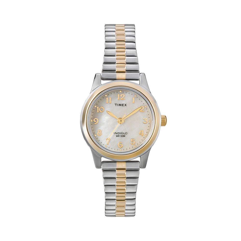 Timex® Women's Two Tone Expansion Watch - T2M828
