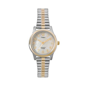 Timex Women's Two Tone Expansion Watch - T2M828