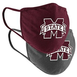 Adult Colosseum Mississippi State Bulldogs Logo Face Covering 2-Pack