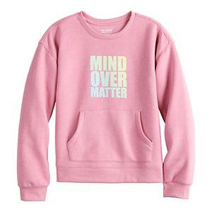 Girls 7-16 Tek Gear Graphic Sweatshirt