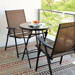 Sonoma Goods For Life Coron Bistro Patio Chair & End Table 3-piece Set