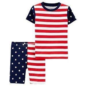 Toddler Carter's 2-Piece Fourth Of July Pajama Set