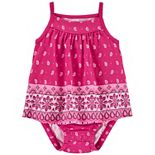 Baby Girl Carter's Floral Tank Sunsuit