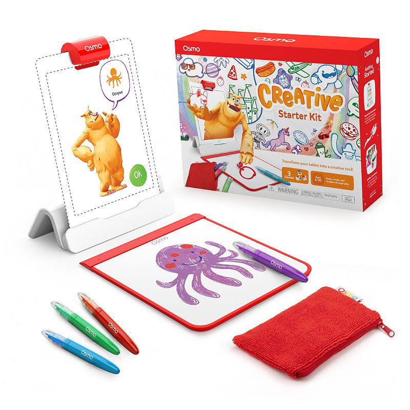 Osmo - Creative Starter Kit for iPad (New Version) Ages 5-10
