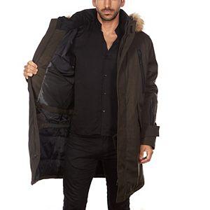 Men's Avalanche Faux-Fur Hooded Parka