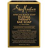 SheaMoisture African Black Soap Eczema & Psoriasis Therapy Bar Soap