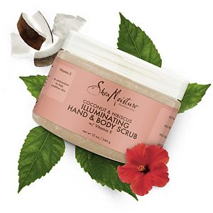 SheaMoisture Coconut & Hibiscus Illuminating Hand & Body Scrub