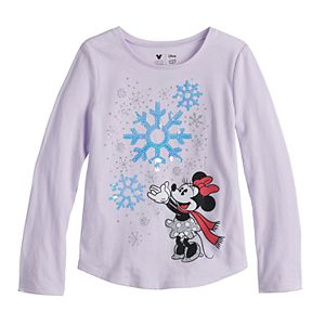 Disney's Minnie Mouse Girls 4-12 Jumping Beans® Tee