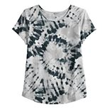 Girls 4-20 & Plus Size SO® Favorite Tie Dyed Graphic Tee