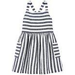 Toddler Girl Carter's Striped Linen Dress