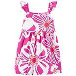 Toddler Girl Carter's Tropical Jersey Dress
