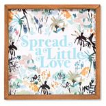 Sonoma Goods For Life® Spread a Little Love Framed Wall Decor