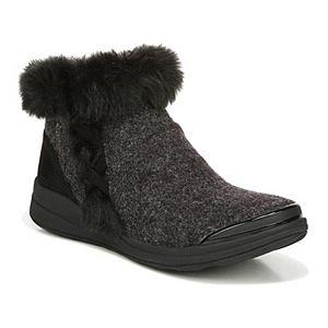 Bzees Iris Women's Washable Faux Fur Ankle Boots
