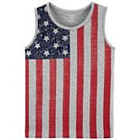 Boys 4-12 Carter's 4th Of July Graphic Tank Top