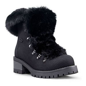Lugz Adore Faux Fur Women's High Heel Ankle Boots