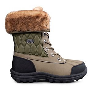 Lugz Tambora Quilted Faux Fur Women's Ankle Boots