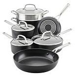KitchenAid® Hard-Anodized Induction 11-pc. Nonstick Cookware Set