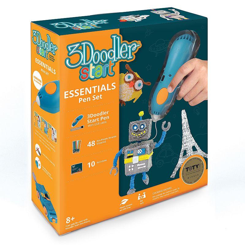 3Doodler Start Essentials Pen Set, Black