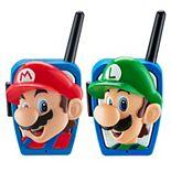 KIDdesigns Super Mario Brothers Walkie Talkies