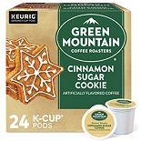 Green Mountain Coffee Roasters Cinnamon Sugar Cookie Coffee, Keurig® K-Cup® Pods, Light Roast, 24 Count