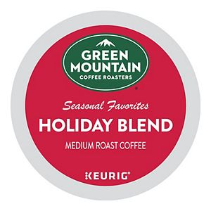 Green Mountain Coffee Roasters Holiday Blend Coffee, Keurig® K-Cup® Pods, Medium Roast, 24 Count