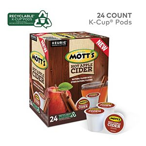 Mott's Hot Apple Cider, Keurig® K-Cup® Pods, 24 Count