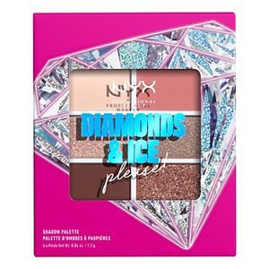 NYX Professional Makeup Diamonds & Ice Please! 6 Pan Eyeshadow Palette