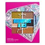 NYX Professional Makeup Diamonds & Ice Please! 6 Pan Eyeshadow Palette