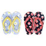 Carter's Lettie Toddler Girls' 2-Pack Flip Flop Sandals Set