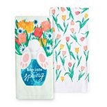 Celebrate Easter Together Hop Into Spring Kitchen Towel 2-pk.