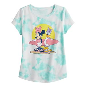 Disney's Minnie Mouse Toddler Girl Tie Dye Graphic Tee by Family Fun?