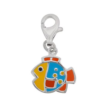 Personal Charm Sterling Silver Fish Charm